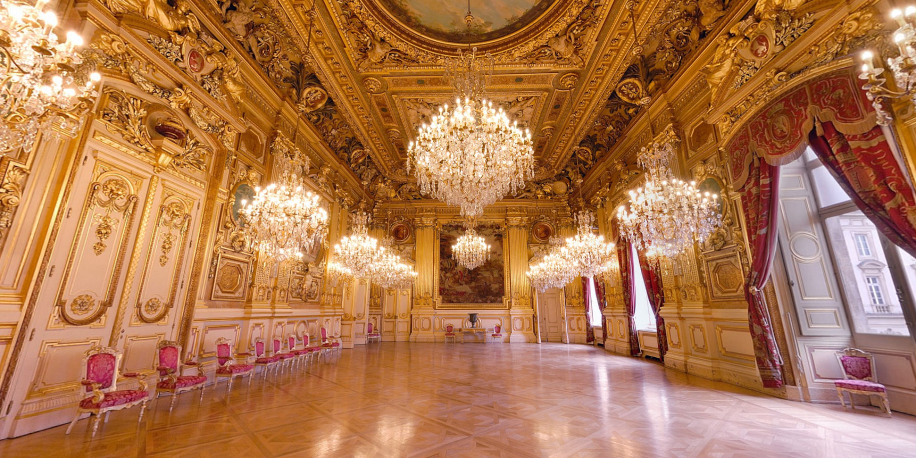 Mairie de Lyon - Le Grand Salon
